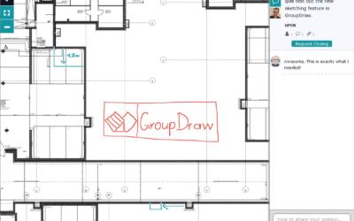 GroupDraw führt ein neues sketching feature ein.